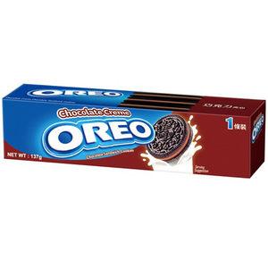 奧利奧巧克力夾心三明治137g合迷雅好物超級商城