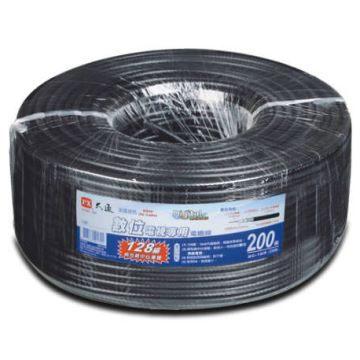 中將3C PX大通128編織數位電視專用電纜線5C-2V 128-200M
