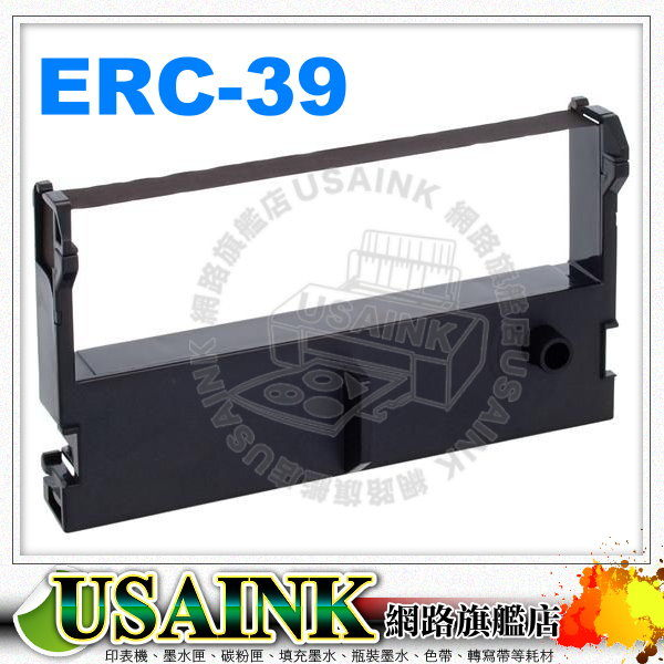 USAINK☆EPSON ERC-39 收銀機相容色帶 ERC39/卡西歐 301/CASIO-301 /乾隆A330/精業PW-2168/VG-6000/ERC43