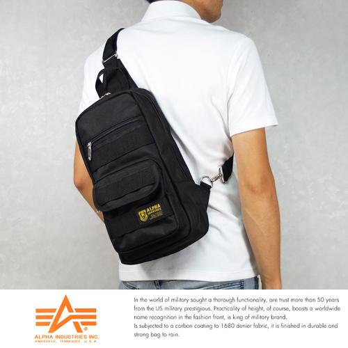 現貨ALPHA日本品牌斜背包硬挺腳踏車包B5單肩後背包IPad大小5個口袋12699099