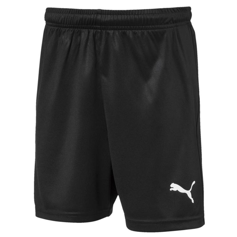 Puma 短褲 兒童款 足球系列 黑色 LIGA 運動短褲 休閒 慢跑 健身 短褲 70343703