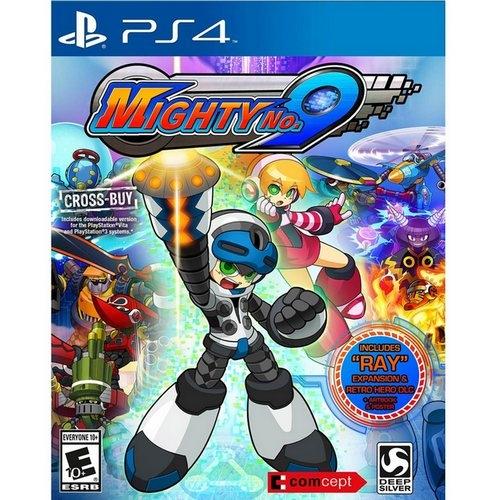 PS4遊戲麥提9號-中文版首發送PS3 PS Vita版下載代碼免運
