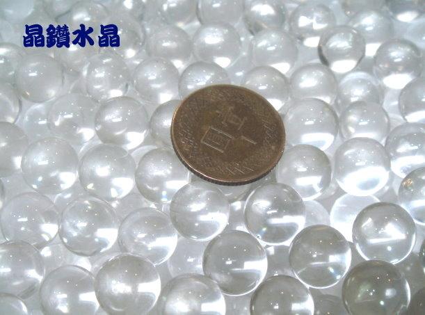 『晶鑽水晶』巴西天然白水晶球10mm高淨度.超白透亮*超值特賣中