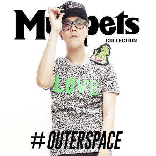 OUTER SPACE青蛙愛上豬小妹LOVE情人T MUPPETS特別款