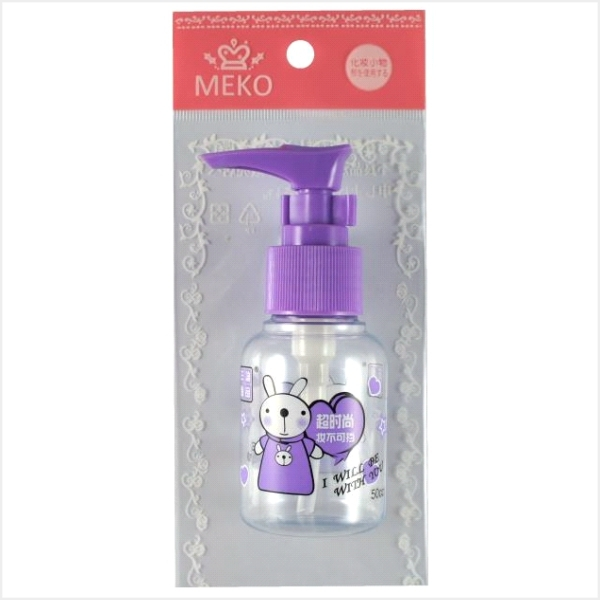 ✨MEKO小資時尚 ✨   MEKO 印花押瓶(50ml) D-042/分裝瓶     [MEKO美妝屋]