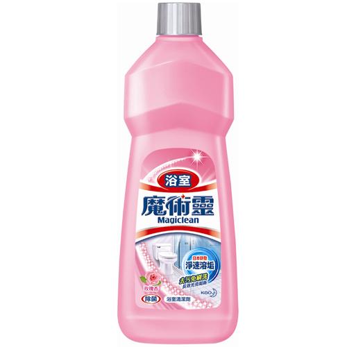 魔術靈浴室清潔劑補充瓶-玫瑰香500ml*2入愛買