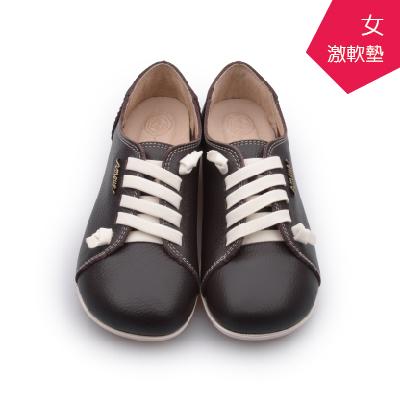 A MOUR經典手工鞋頂級牛革饅頭小牛咖氣墊鞋平底頂級小牛皮超軟饅頭鞋DH-2818
