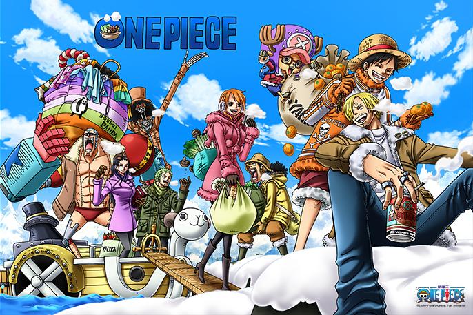 拼圖總動員PUZZLE STORY航海王-四季之冬PuzzleStory海賊王One Piece 1000P