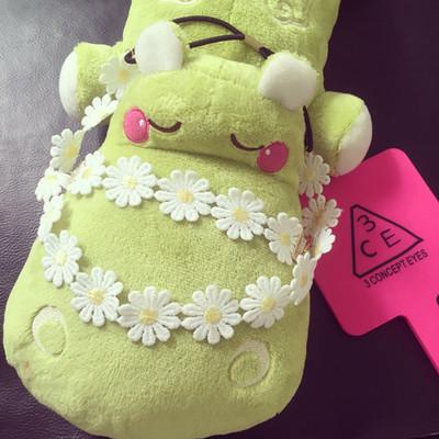 [超豐國際]韓國清新小黃花朵發帶林小宅同款發箍項鏈項圈手鏈小1入