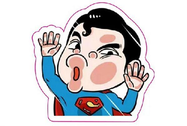 汽車玻璃貼紙超人撞玻璃超KUSO搞笑貼爆炸貼裝飾貼英雄聯盟大張規格安全帽貼車身貼可愛