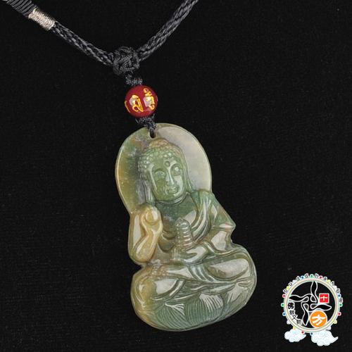 藥師佛印度瑪瑙項鍊A1十方佛教文物