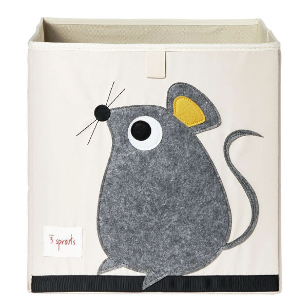 【原廠公司貨】加拿大3 Sprouts 收納箱-老鼠