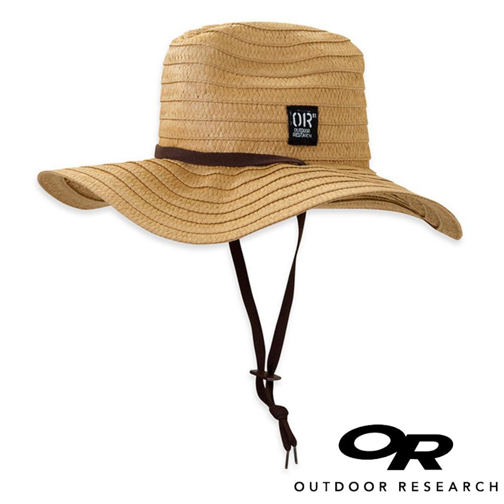 OR美國Outdoor Research Longboard透氣遮陽大盤草帽稻黃250186登山.防曬帽.圓盤帽.中盤帽