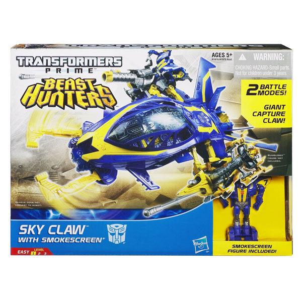 孩之寶流行玩具變形金剛領袖之證-交通工具組SKY CLAW戰艦A1976