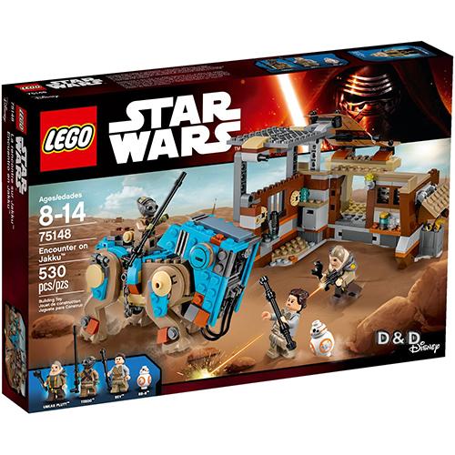 樂高積木LEGO LT75148 STAR WARS星際大戰系列Encounter on Jakku JOYBUS玩具百貨