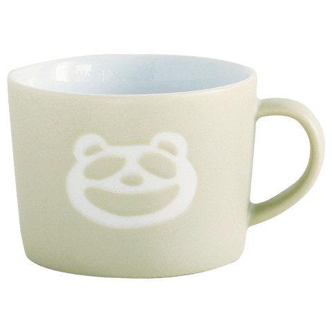 日本PETITS ET MAMAN兒童用熊貓馬克杯
