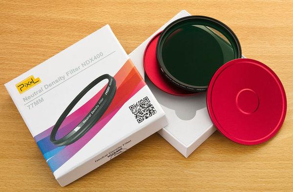 呈現攝影-品色可調ND減光鏡77mm ND鏡MC雙面鍍膜ND2-ND400減光9格送鋁收納盒B W專業級