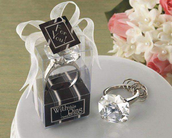 鑽石鑰匙圈 送客禮 婚禮小物【皇家結婚用品】