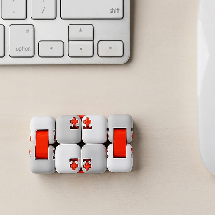 小米米兔指尖積木減壓神器益智自由拼裝積木玩具無限魔方