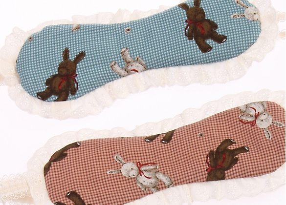 La Luna 精品睡衣童趣兔子玩偶眼罩