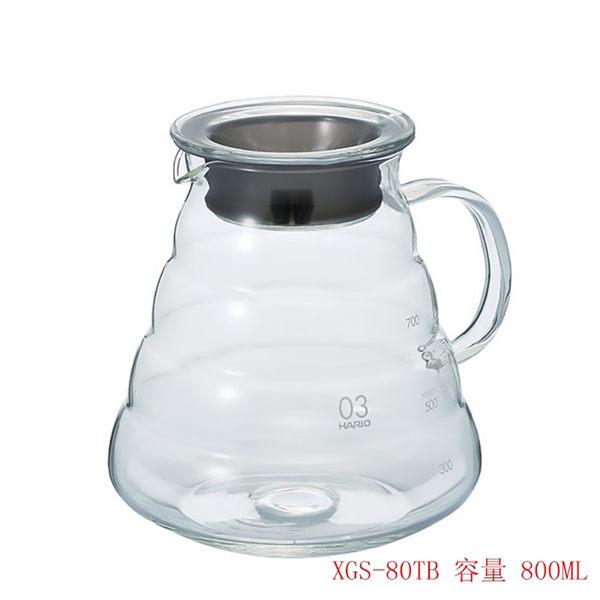 HARIO V60雲朵咖啡壺 耐熱玻璃壺 800ml