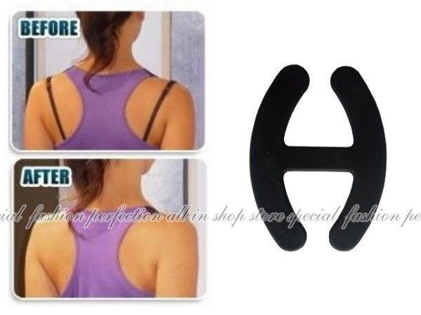 DP227隱形肩帶扣女人我最大推薦肩帶隱形防滑扣環胸型集中托高1入不挑色EZGO商城