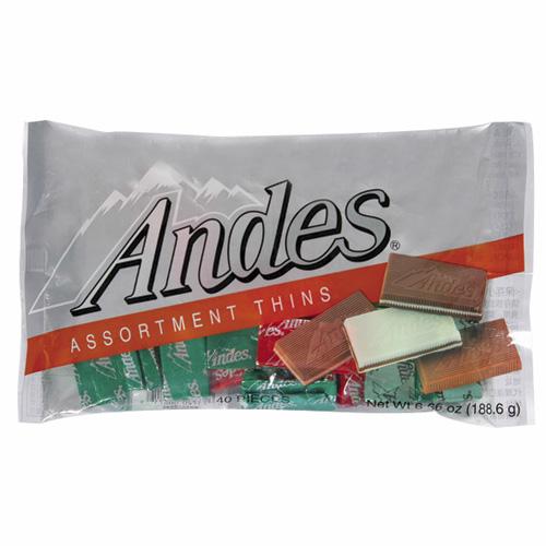 安迪士Andes巧克力薄片-綜合口味165g愛買