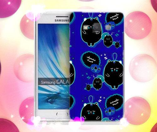 俏魔女美人館可愛水晶硬殼SAMSUNG GALAXY A7手機殼手機套保護套