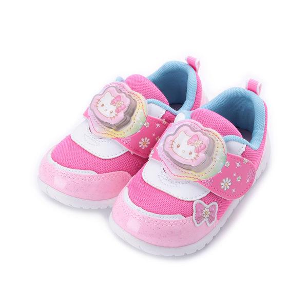 HELLO KITTY 造型電燈休閒鞋 桃 719807 中小童鞋 鞋全家福