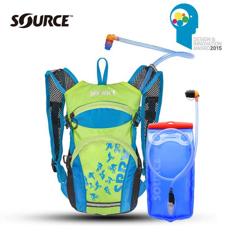 以色列Source 兒童自行車水袋背包Spry /城市綠洲 (附1.5L水袋.符合人體工學設計)
