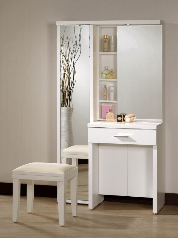8號店鋪 森寶藝品傢俱a-01 品味生活 臥室系列618-2  米洛斯2尺化妝台(右1)(不含旋轉鏡)