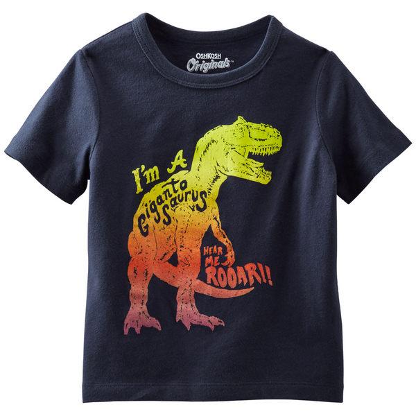 Carter's/OshKosh B'gosh 美國童裝 純棉T恤 恐龍 9M 12M 18M 24M