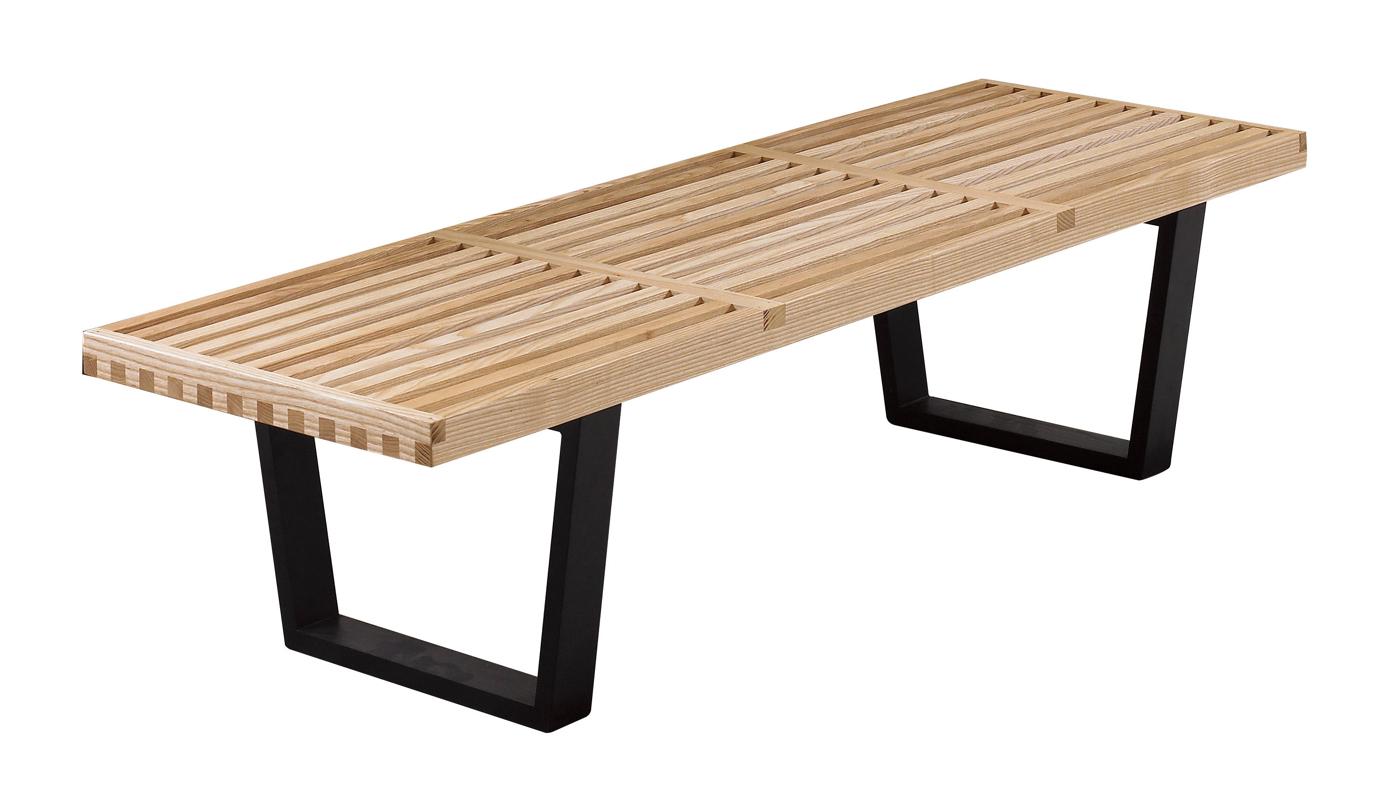 【南洋風休閒傢俱】設計單椅系列- 喬治實木長條椅 羅柏特實木長椅凳 復古風工業風長凳(JF990-14)