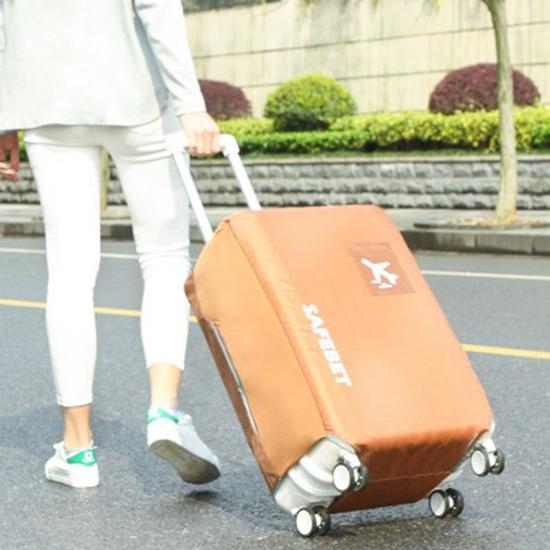 MY COLOR防水素面行李套M號彈力保護套加厚耐磨保護罩牛津布行李箱防塵N367
