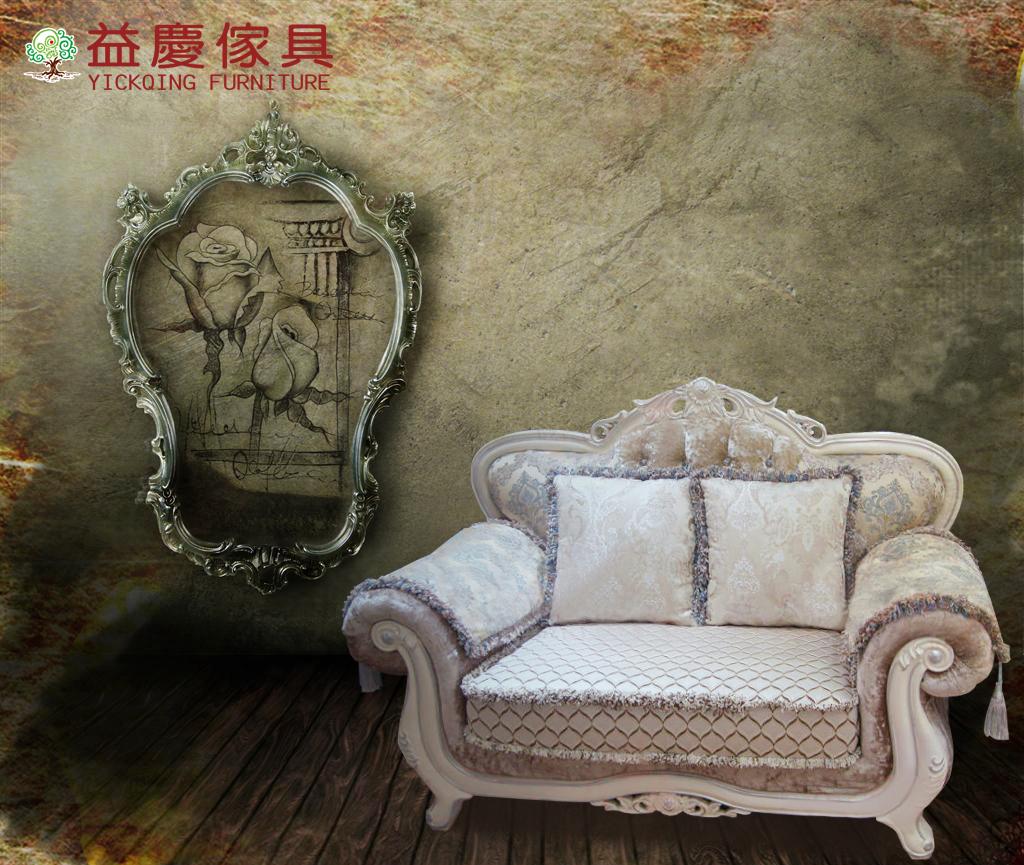 【大熊傢俱】660 新古典沙發 布藝沙發 歐式沙發 別墅沙發 皮沙發 絨布沙發 1 2 3沙發組合