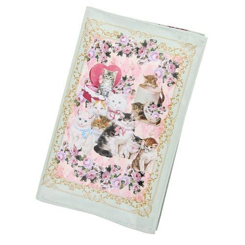 日本製貴族貓咪錢包皮夾防水tiffany藍984034通販屋
