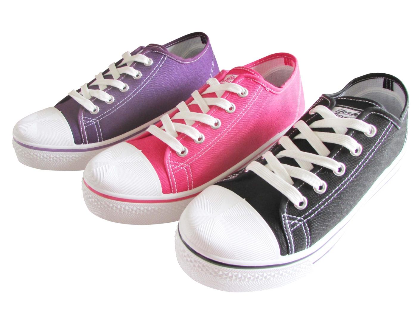 『雙惠鞋櫃』★ 女版 學生 街頭 中性帆布鞋★台灣製造★(A2023) 黑、桃、紫、酒紅