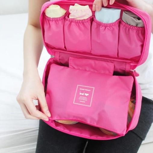 收納包韓國旅遊收納包防水包包小飛機化妝包內衣褲胸罩旅行行李箱鞋涼鞋RB315