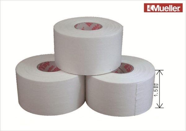 Mueller 1.5吋白貼運動貼布貼紮專用-3卷