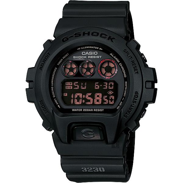 CASIO卡西歐G-SHOCK經典坦克腕錶-霧黑DW-6900MS-1DR DW-6900MS-1
