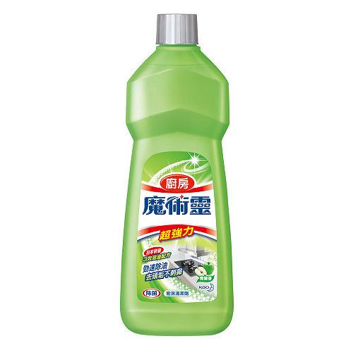 魔術靈廚房清潔劑補充瓶-青蘋香500ml*2入【愛買】