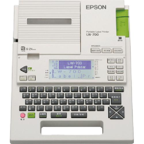買標籤帶主機半價優惠愛普生EPSON標籤機LW-700可攜式標籤機