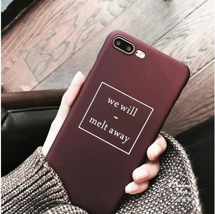 【SZ25】iphone 6s 手機殼 復古簡約we will英文 iphone plus手機殼 iphone 7 plus手機殼 iphone 7 手機殼