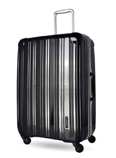 CROWN皇冠Traveler Station行李箱舊換新5.9折限時限量促銷款亮面鋁框行李箱旅行箱-27吋-黑