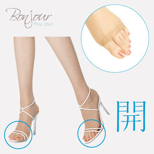 BONJOUR日本ASTIGU機能絲襪魚口鞋專用美腿開系列J.ZE155-263 I.2色
