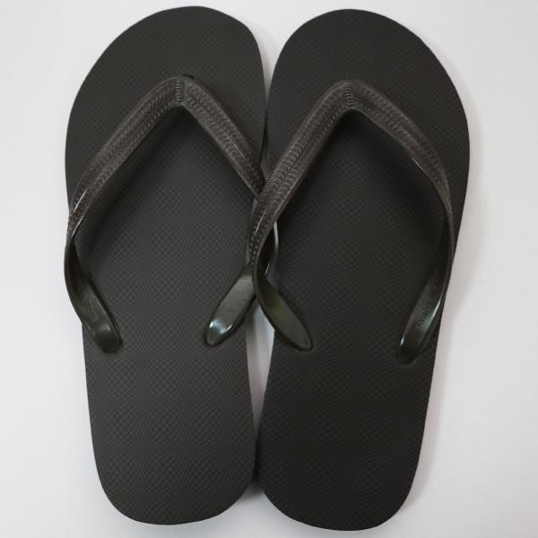 素色橡膠人字拖鞋 男款-咖啡色|台製海灘拖 台灣製 人字拖 沙灘拖 夾腳拖 拖鞋 室內室外 兩用