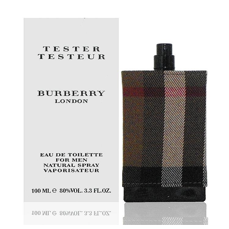 Burberry London For Men 倫敦男性淡香水 100ml Test 包裝