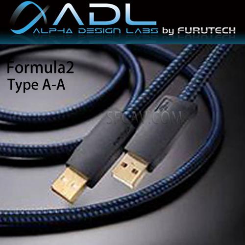 【新竹勝豐群音響】Furutech 古河 ADL Formula 2 Type A-A 鍍銀導體USB傳輸線 (0.6M)
