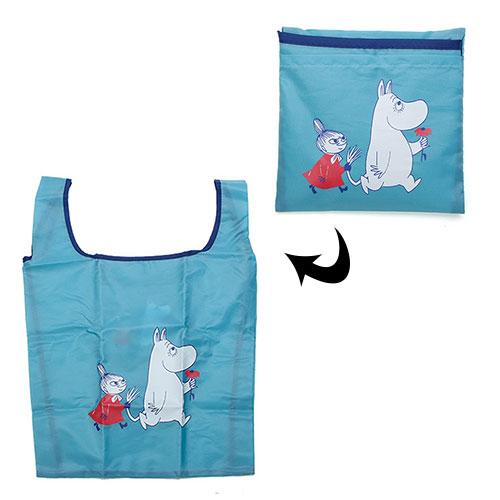 Gakken MOOMIN嚕嚕米環保購物袋M嚕嚕米藍GK12660