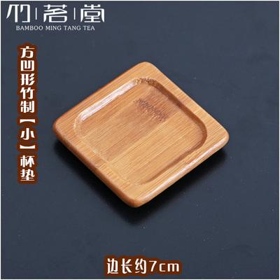 [銀聯網]  竹製杯墊碗墊養壺墊子 3入